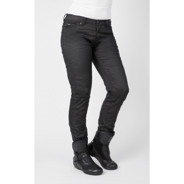 Bull-it MC Jeans SP120 SR6 - Dame Oil Skin Slim - lang