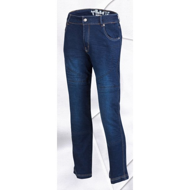 Bull-it MC jeans - Dame SR4 Flex blue - Reg. benlængde