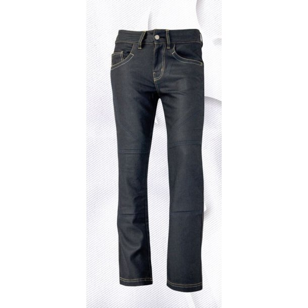 Bull-it MC jeans - Dame SR4 Slate Black - Reg benlængde